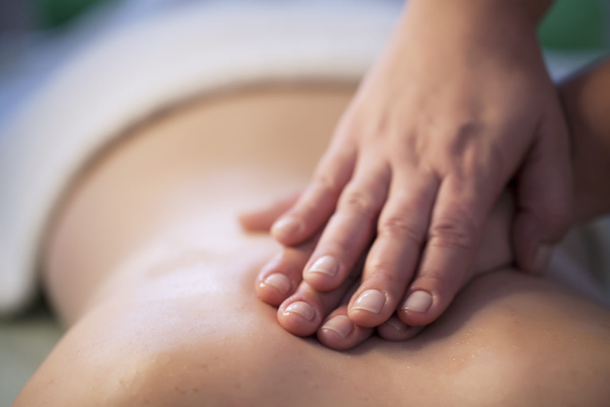 Deep tissue massage - 60 min